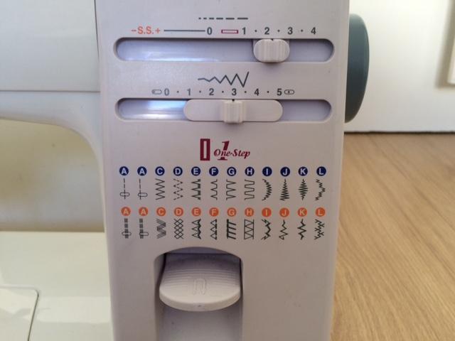 Symaskin-installningar